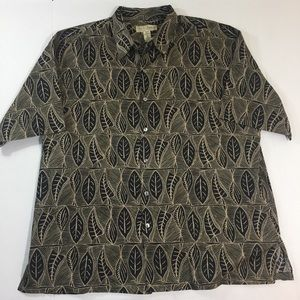 Men's Tori Richard Hawaiian Shirt USA XL